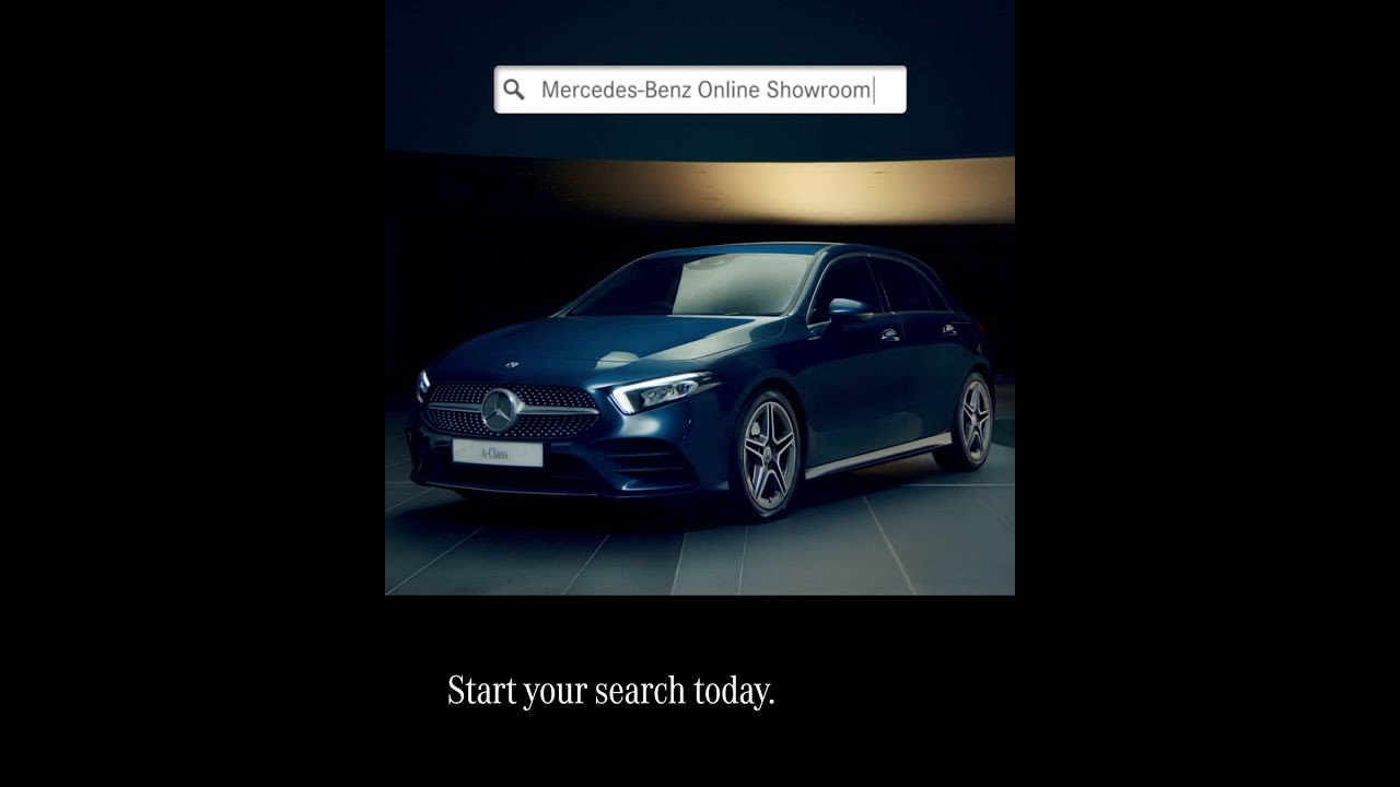 Mercedes-Benz Online Showroom Ad