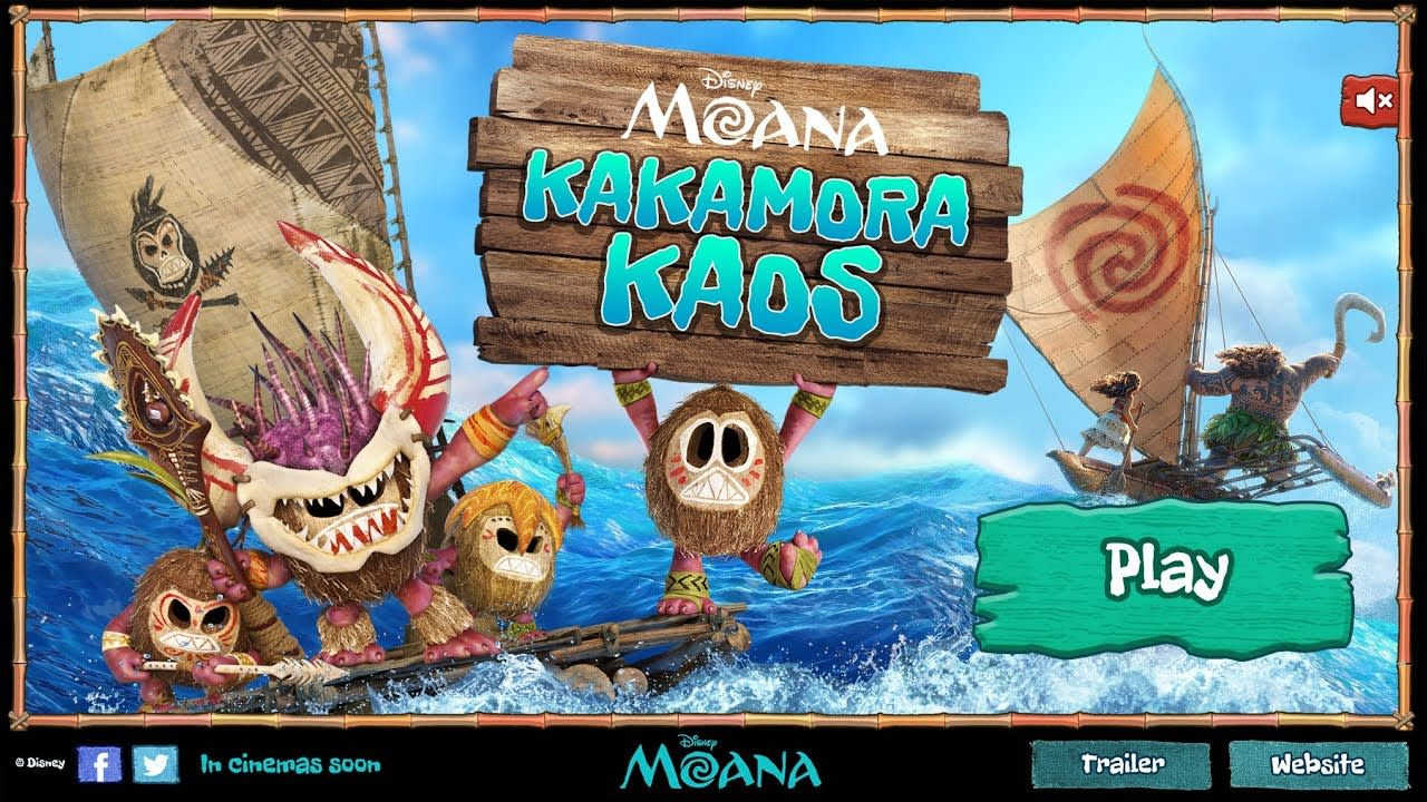 Game - Disney's Moana: Kakamora Kaos