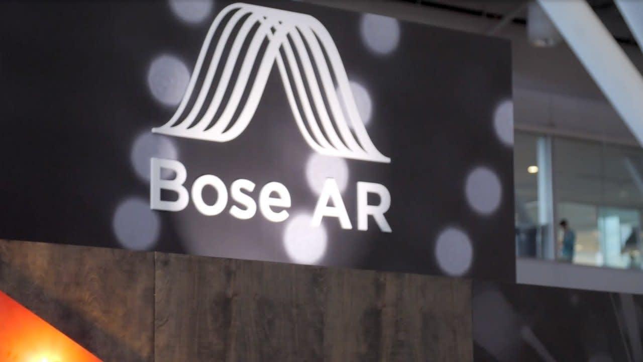 Bose AR-Cade Tradeshow Booth