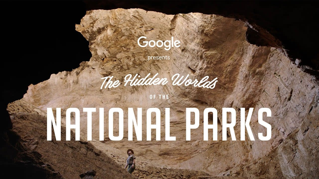 Google presents the Hidden Worlds of the National Parks