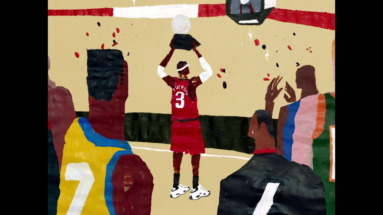 """Reebook Allen Iverson Question Mid """"Why Not Us?"""" animated video"""