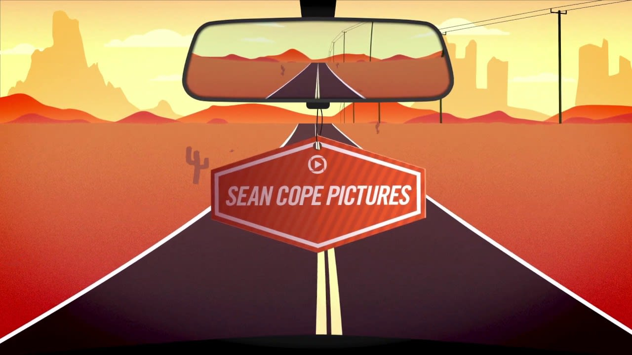 Sean Cope Pictures Desert Road