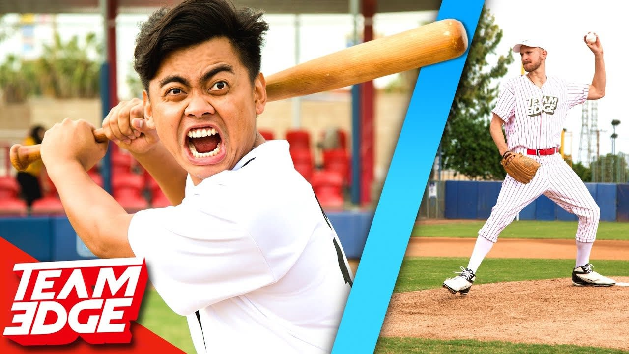 Battle to Throw First Pitch at the World Series vs. Guava Juice!!