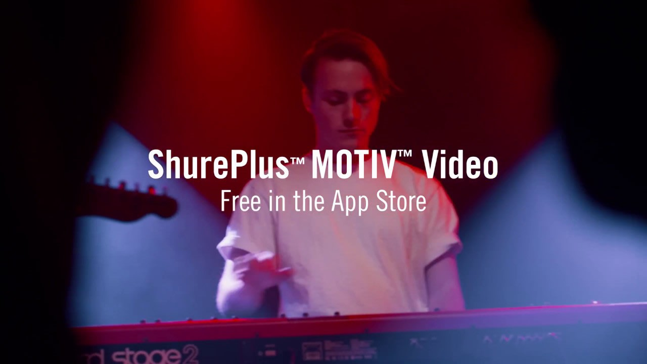 Shure Audio: MOTIV Series