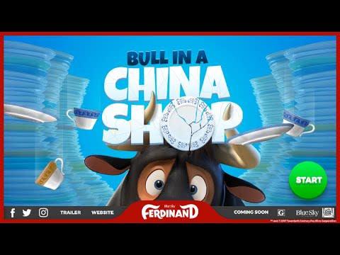 HTML Games - 20th Century Fox: Ferdinand