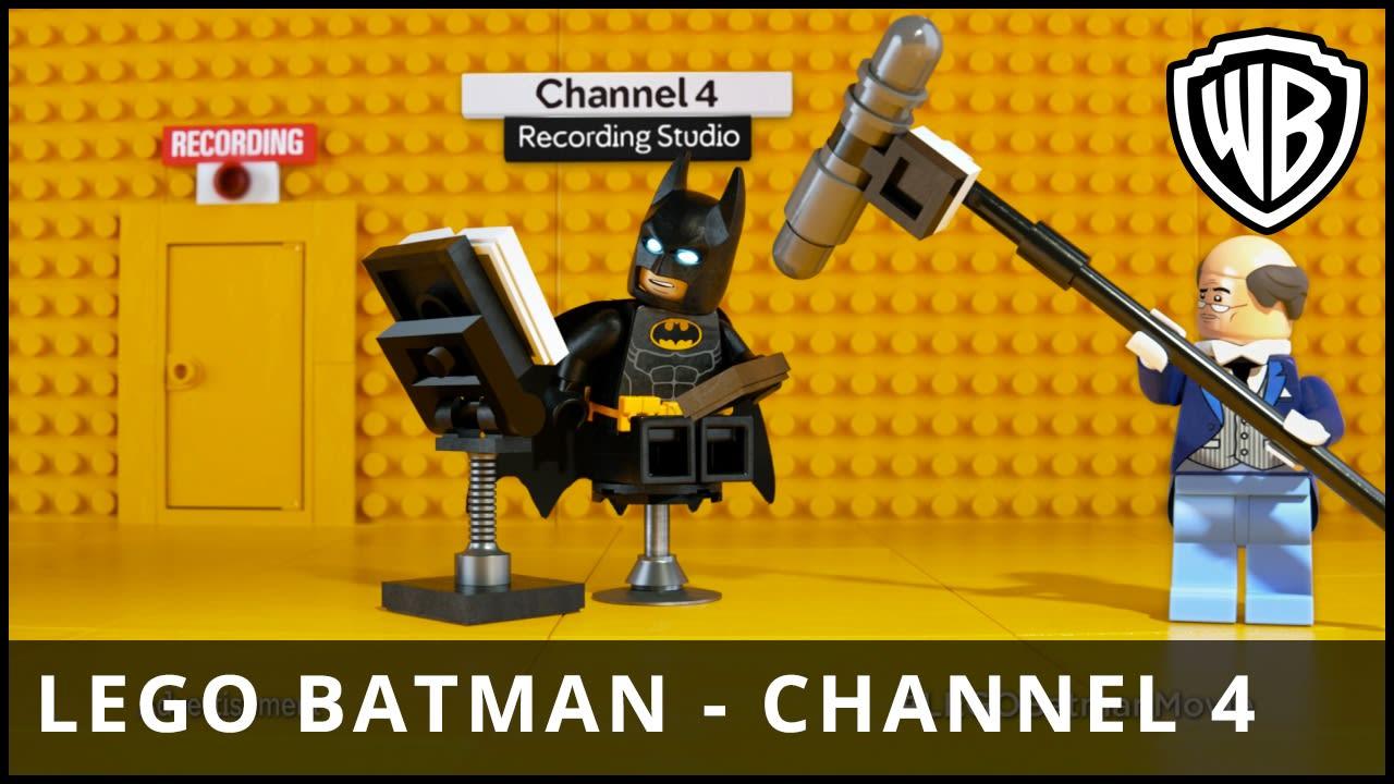 Lego Batman/Channel 4 Partnership