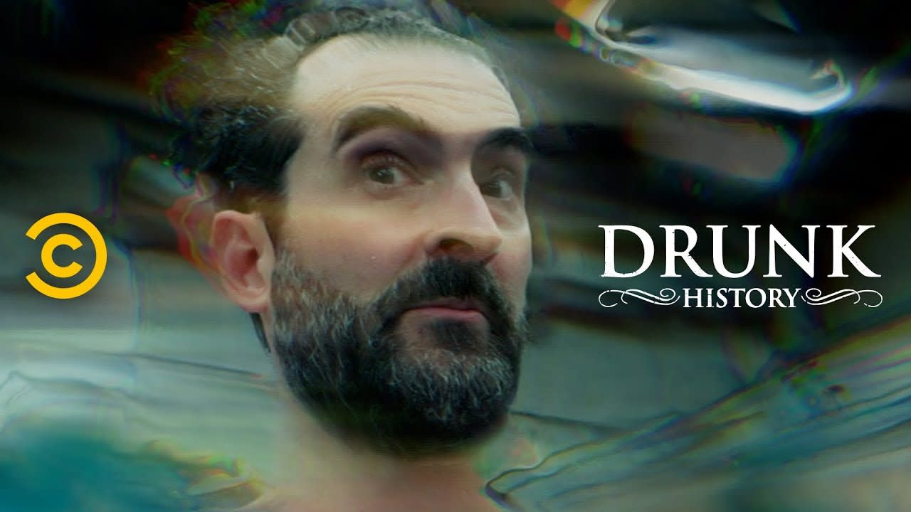 """Drunk History """"Man and Dolphin"""""""