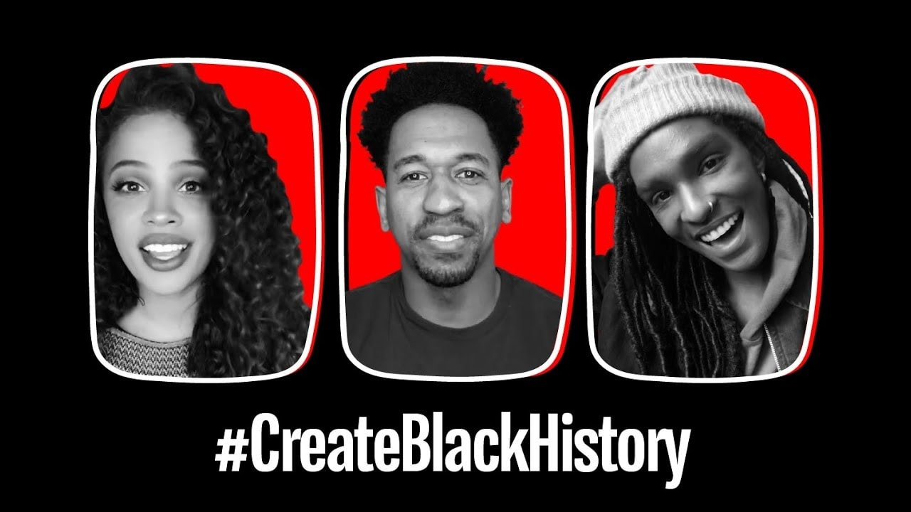YouTube 'Black History Month'