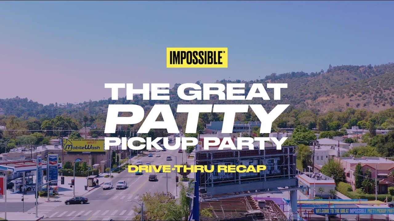 Impossible Foods Patty Launch