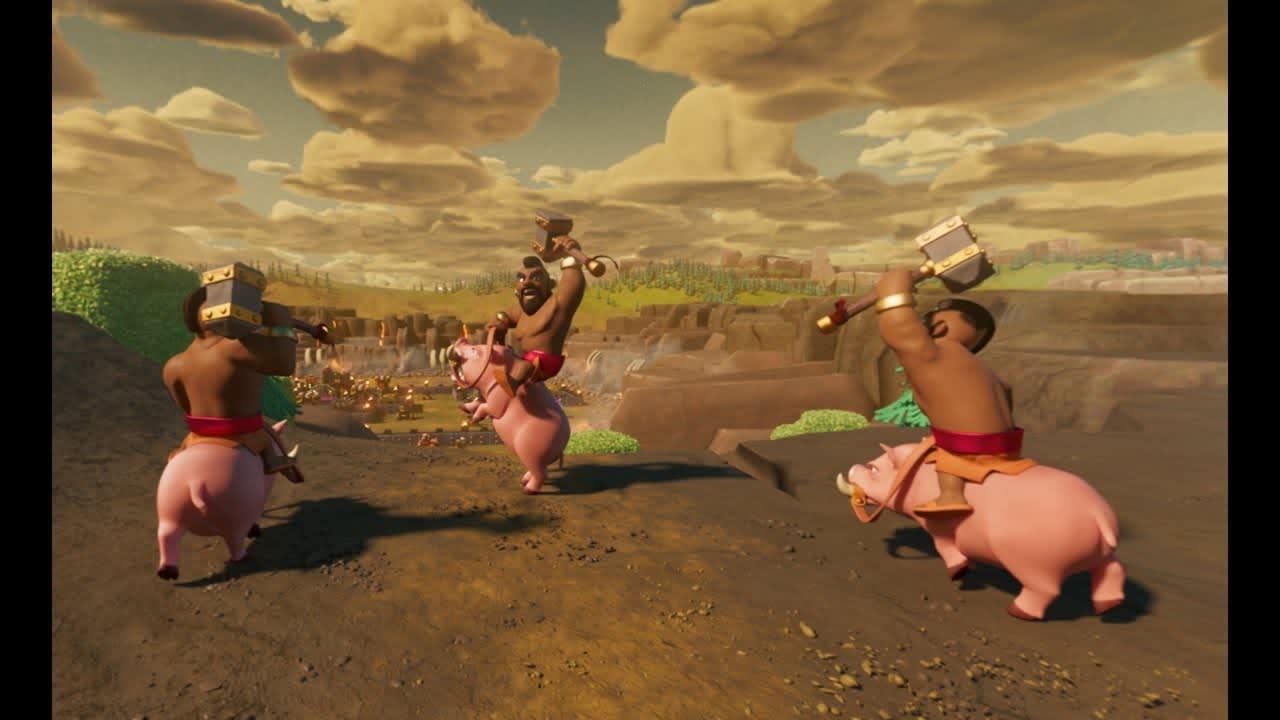 Clash of Clans 360 Videos
