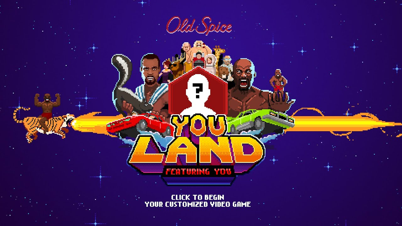 Old Spice YouLand