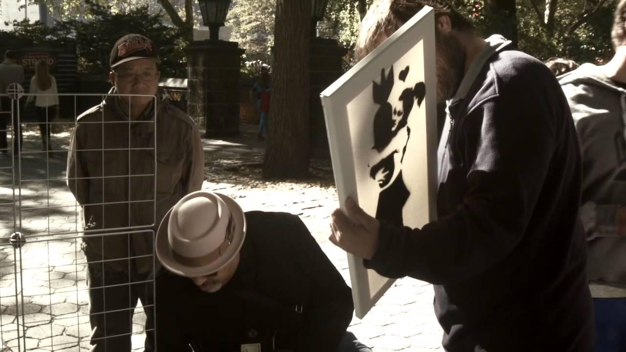 Fake Banksy Sells Out