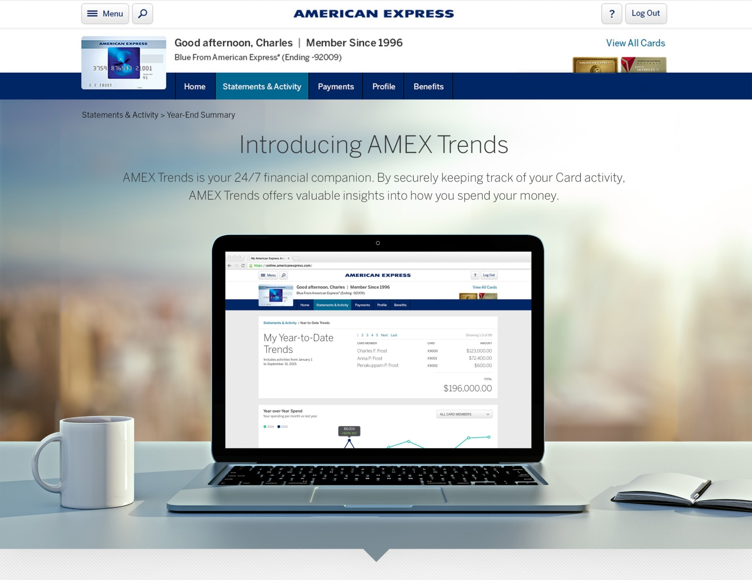 Amex Year End Review