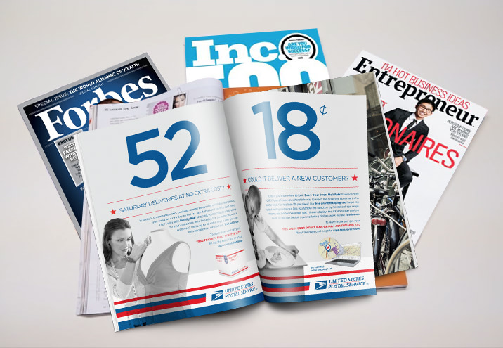 USPS // Small Business Campaign // National Print