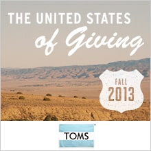 TOMS FALL CAMPAIGN
