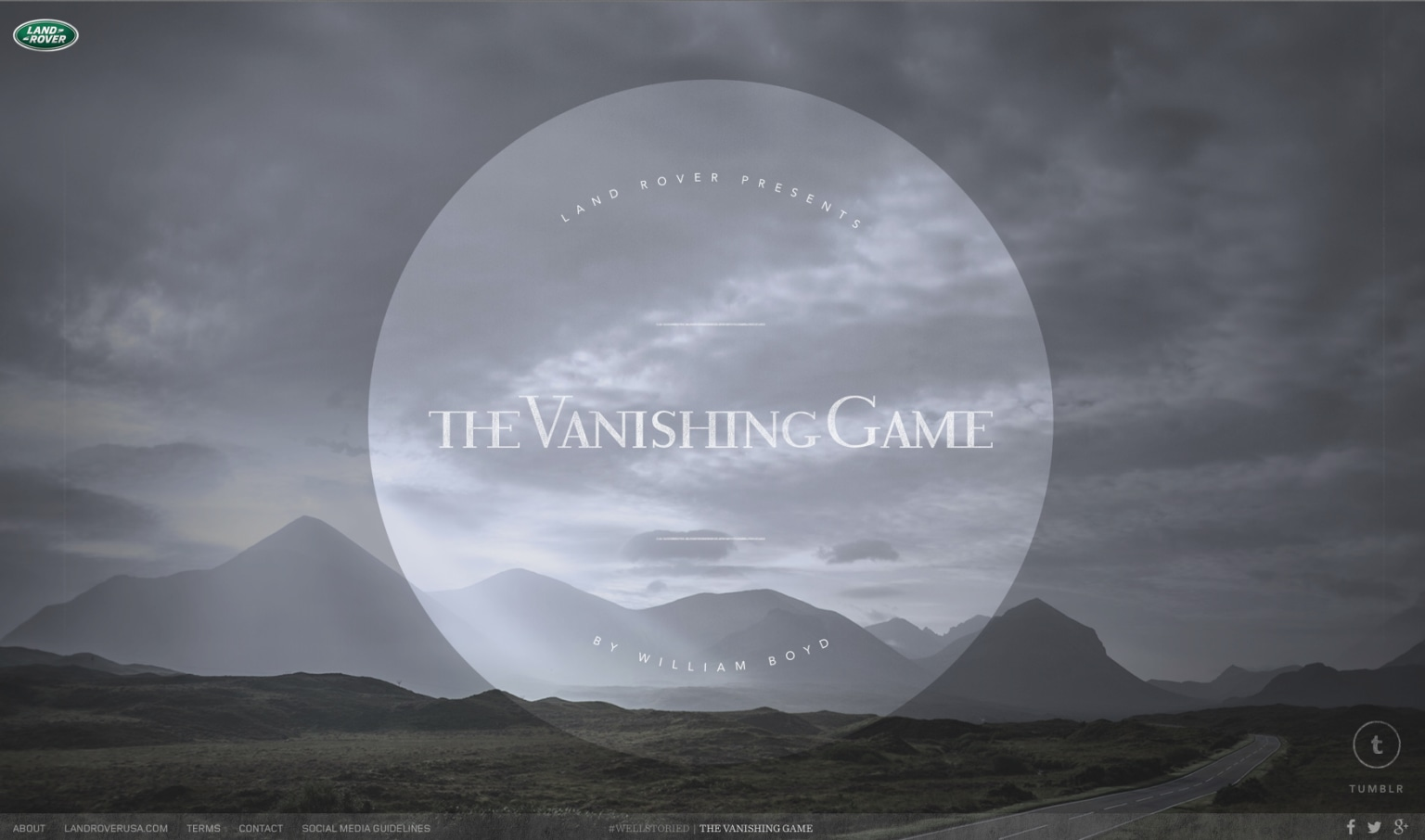 Land Rover /The Vanishing Game