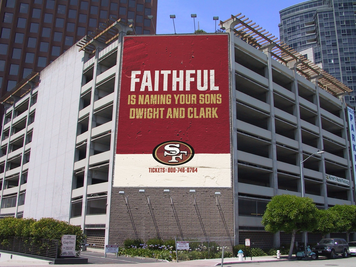 SF 49ers Outdoor