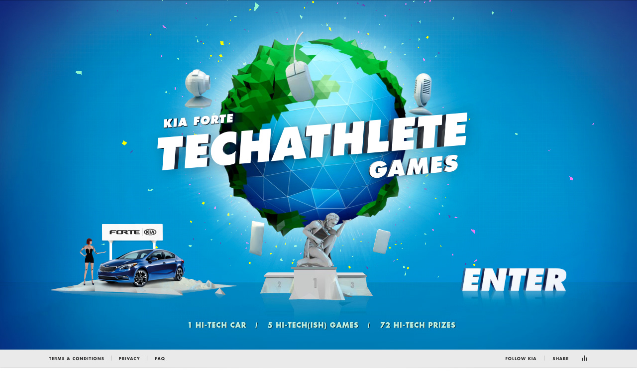 TECHATHLETE GAMES