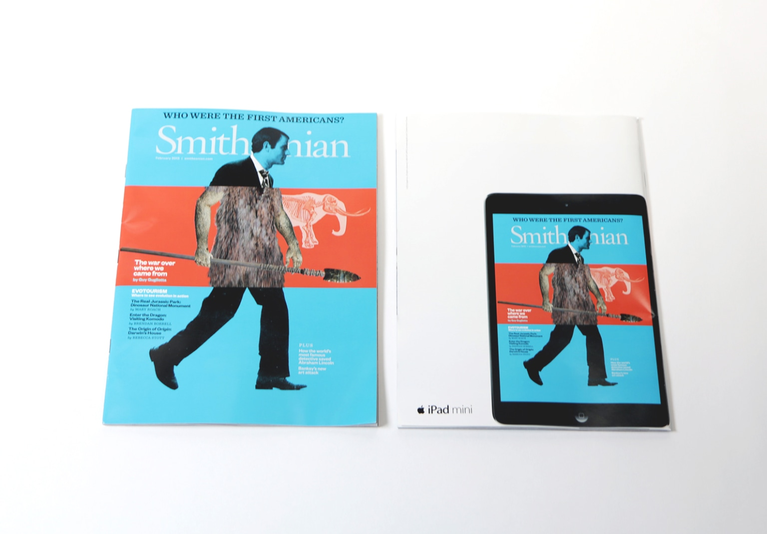 iPad Mini magazine covers