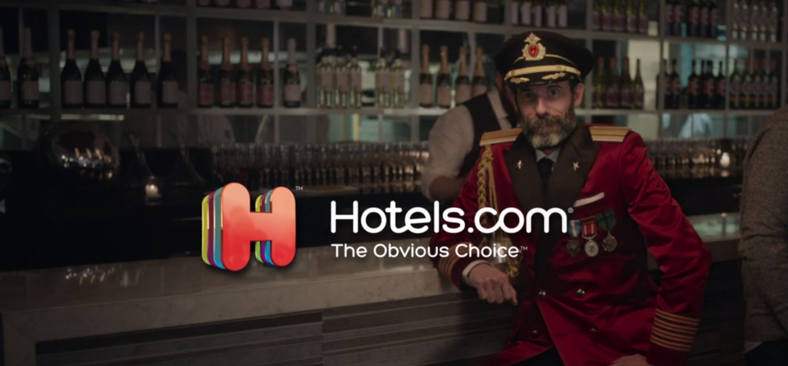 Hotels.com : Captain Obvious