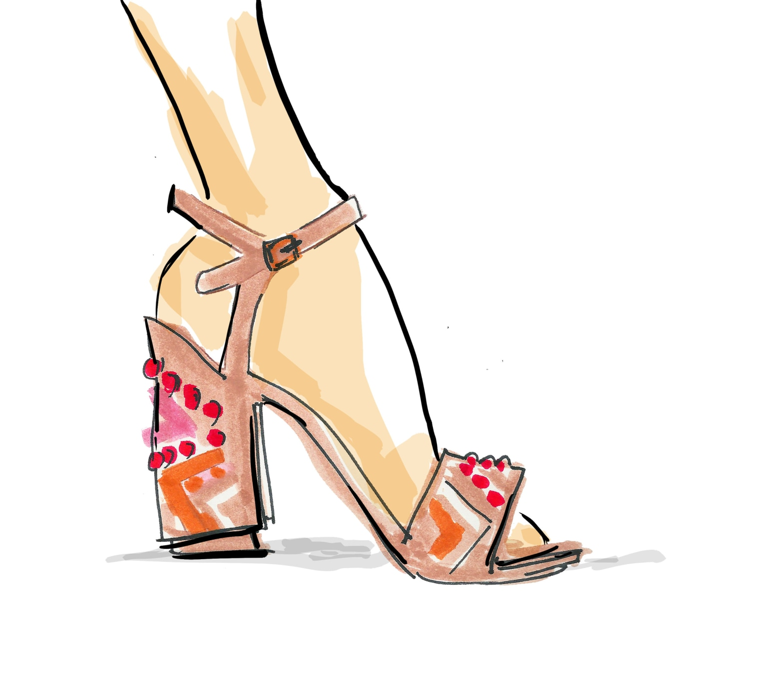 STUART WEITZMAN ILLUSTRATIONS