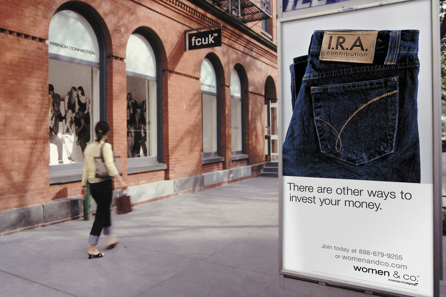 Women & Co. Integrated Print & Outdoor Campaign