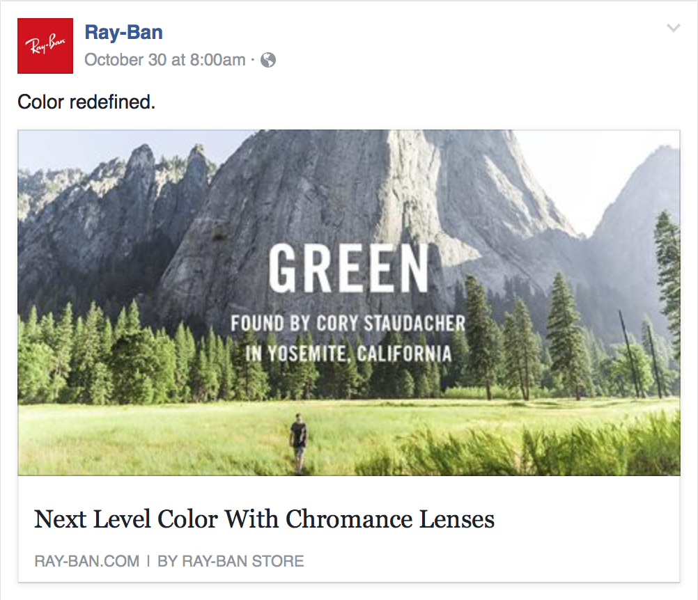 Chromance Color Quest | Ray-Ban