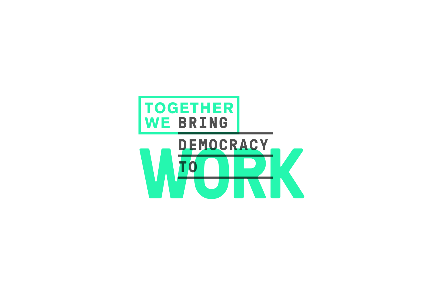 Together We Work Branding