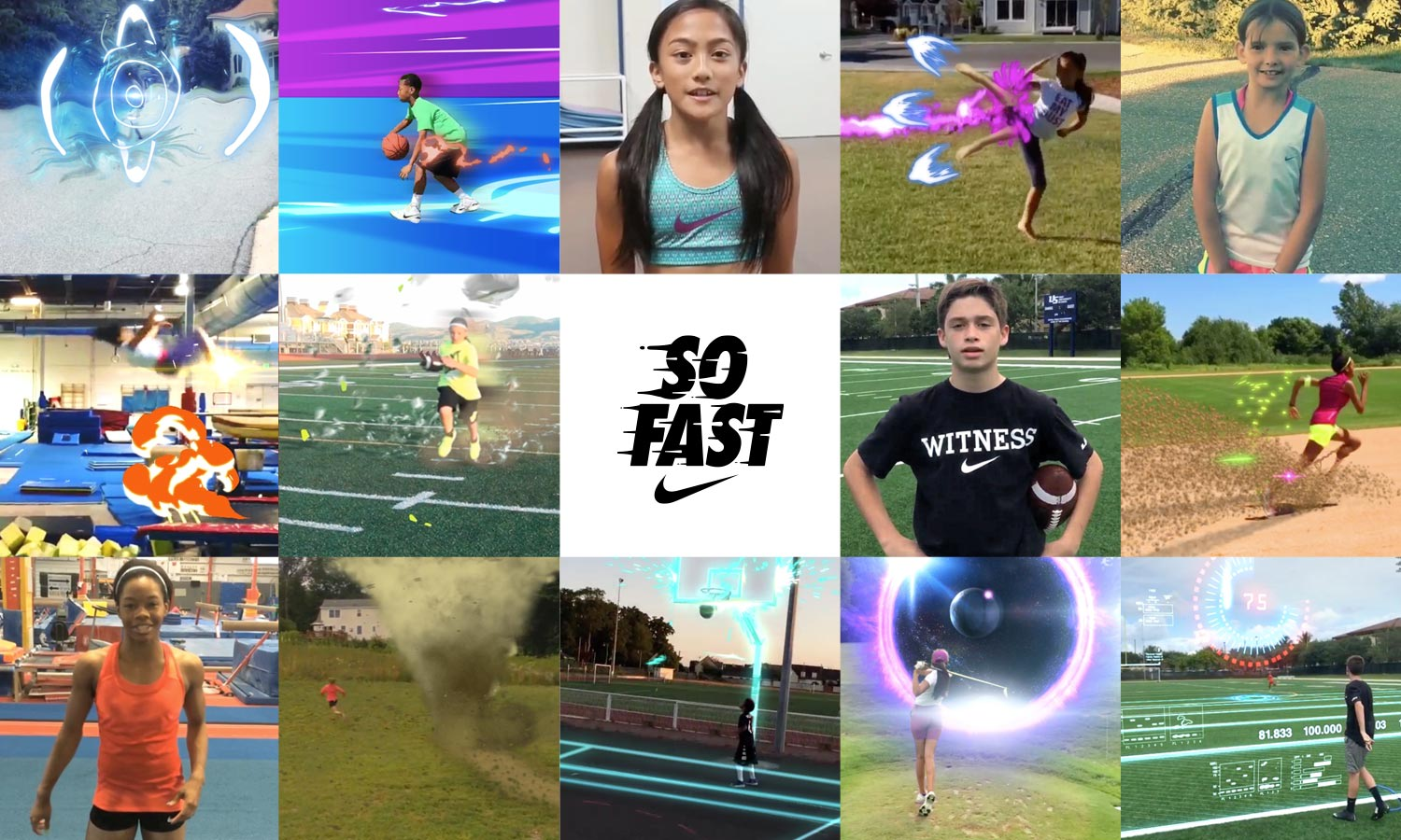 Nike Young Athletes | Instagram Channel Launch