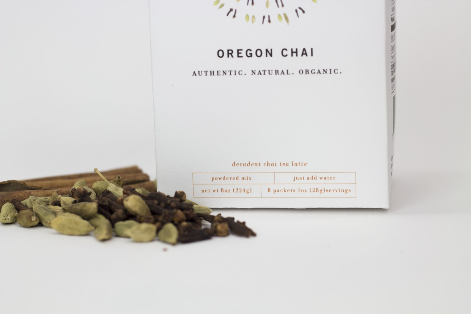 Oregon Chai Package Redesign