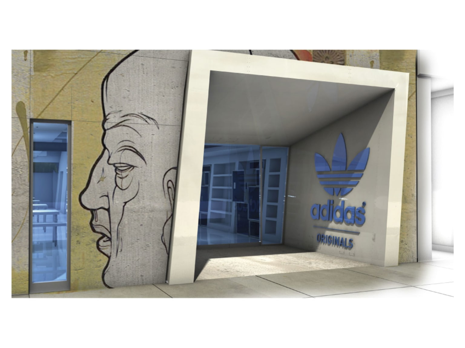 adidas Original flagship design and integrated campaign