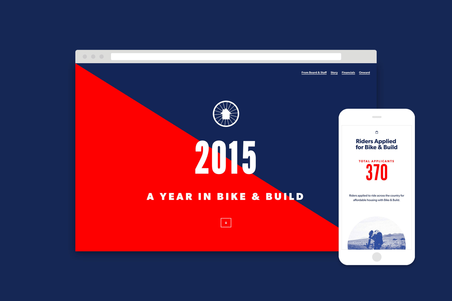 Bike and Build - Annual Report 2015