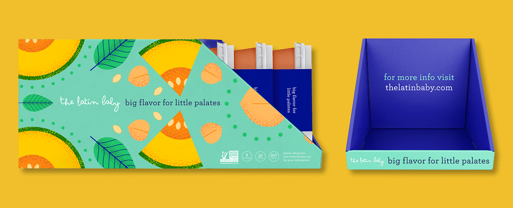 The Latin Baby, Baby Food Packaging