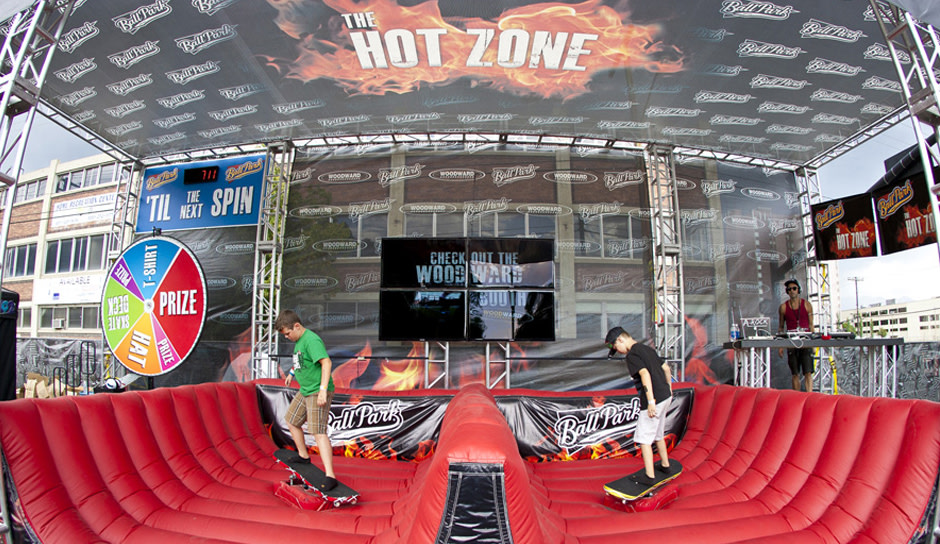 Ball Park Dew Tour Activation Sponsorship