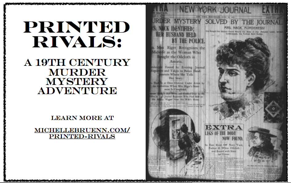 PRINTED RIVALS: A 19TH-CENTURY MURDER MYSTERY ADVENTURE