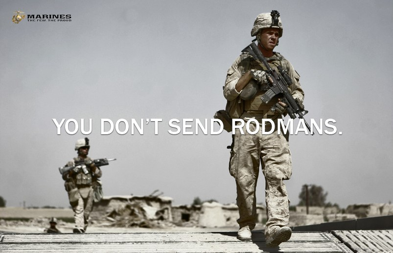 """Marines: """"Who Would You Send In?"""""""