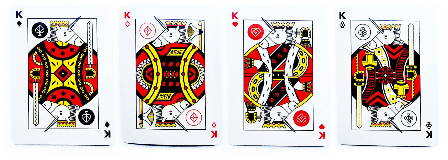 Unicorn Playing Cards