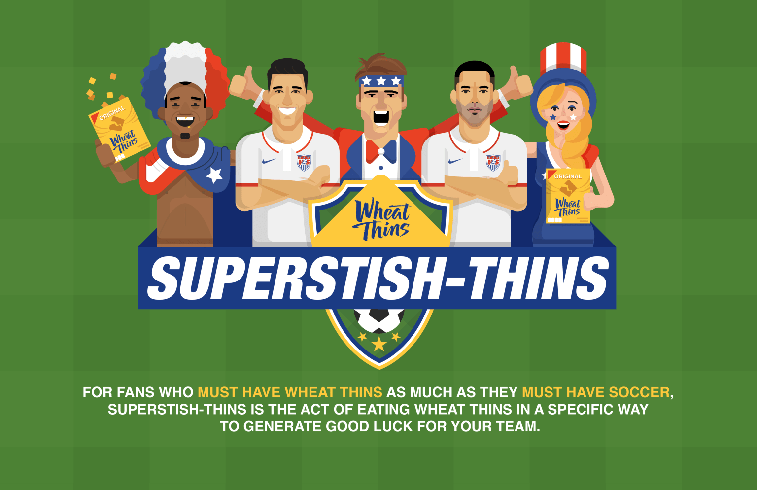 Wheat Thins World Cup