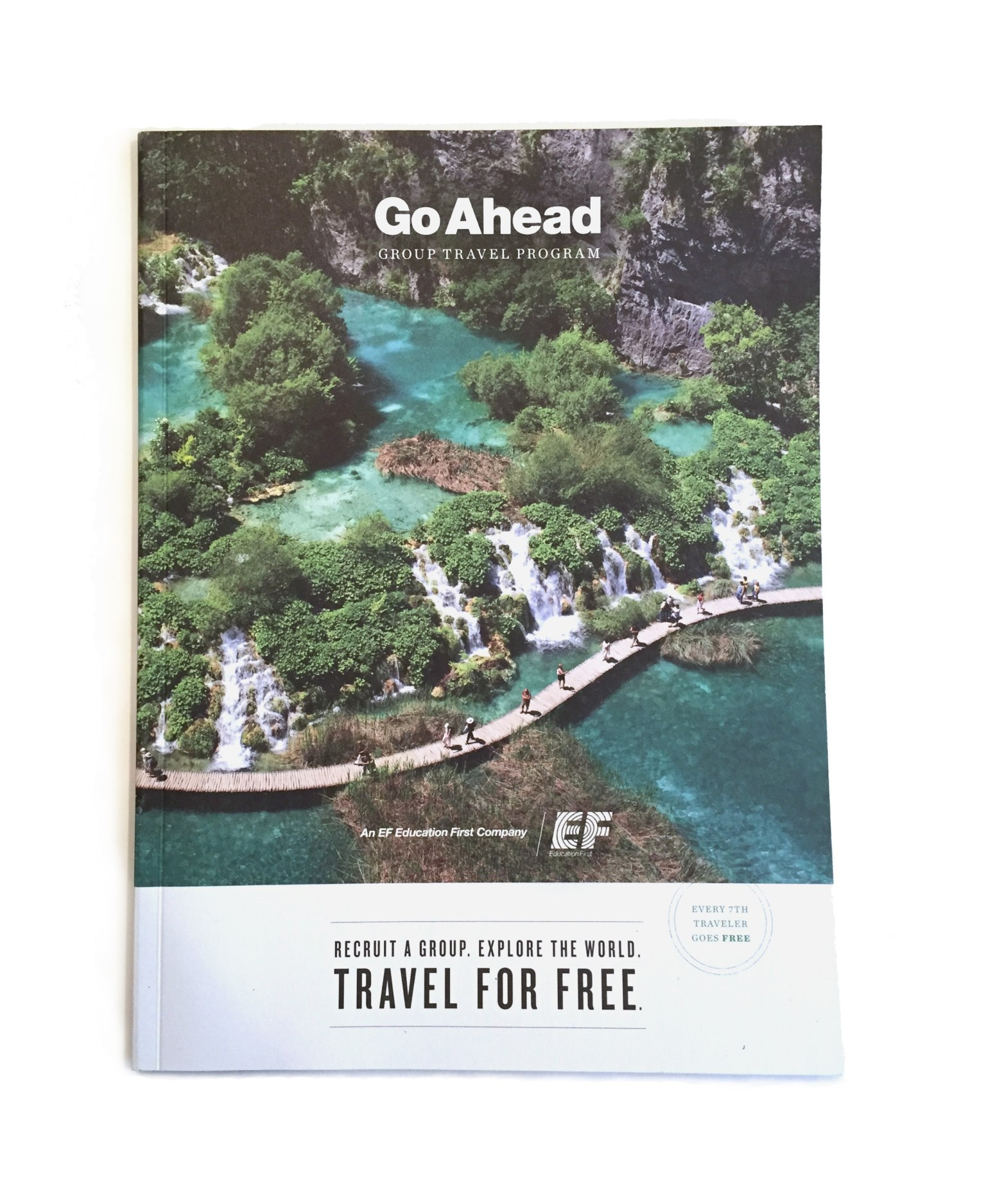 Go Ahead Group Travel Program Booklet