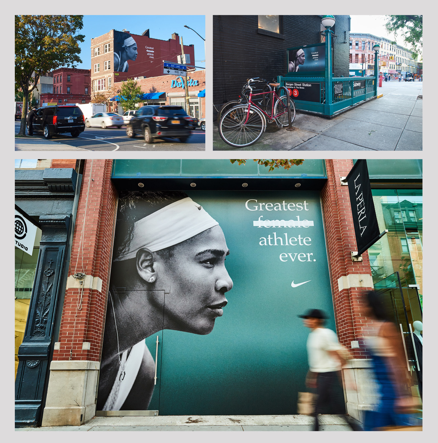Nike Unlimited Greatness - Serena Williams campaign