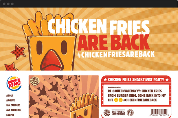 Chicken Fries Are Back