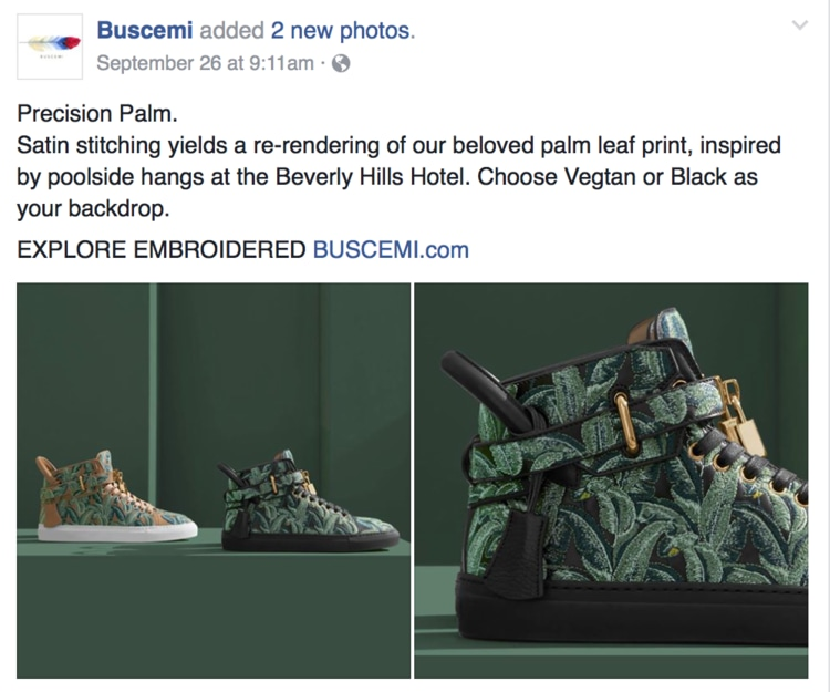 Buscemi Brand Voice Strategy and Style Guide