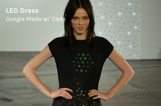 Google Made With Code  - LED Dress