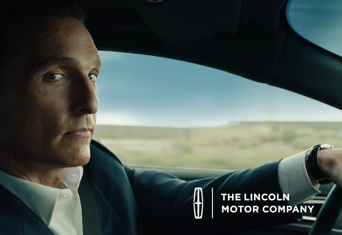 Lincoln Motor Company campaign for the 2017 MKZ