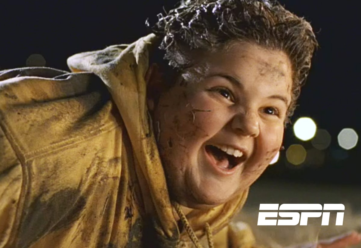 """ESPN campaign for their reality show, """"The LIfe."""""""