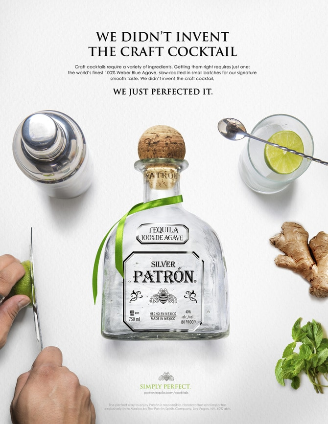 PATRON DIDN'T INVENT TEQUILA
