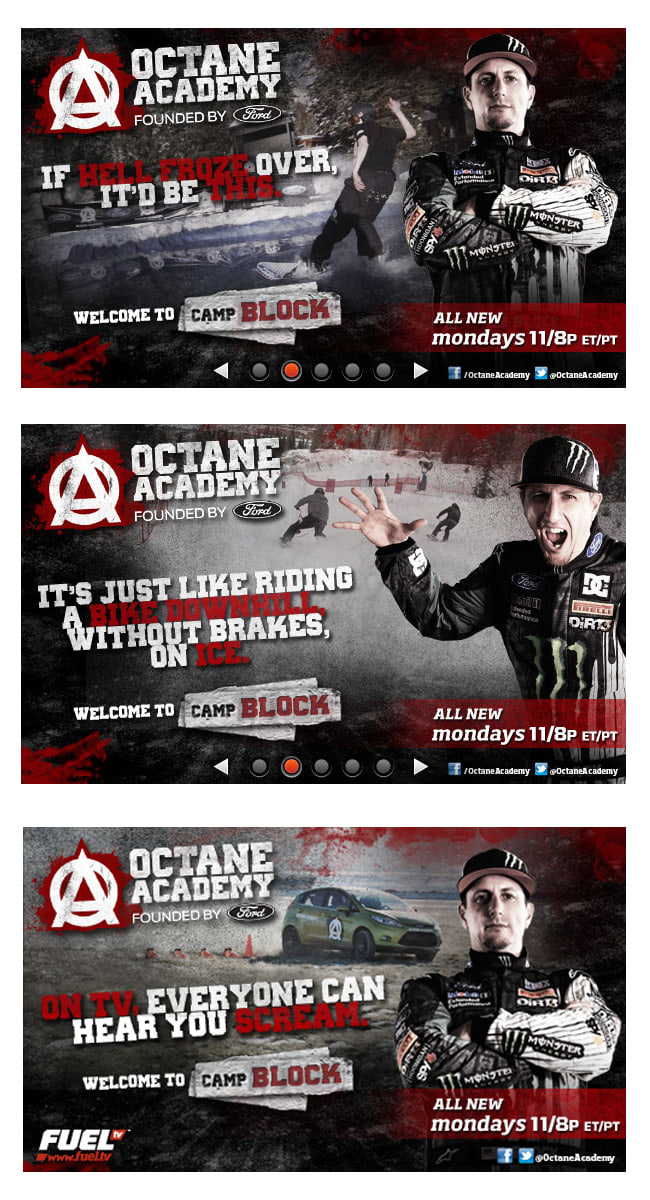 Octane Academy: Founded by Ford