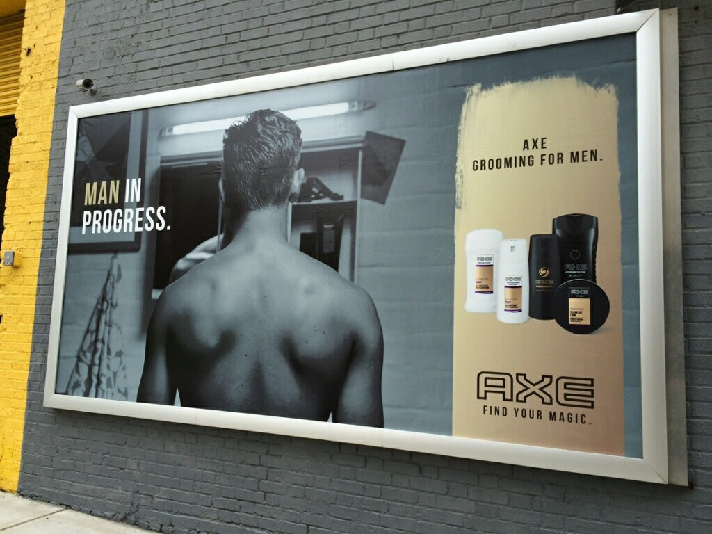 Axe Find Your Magic Launch Campaign