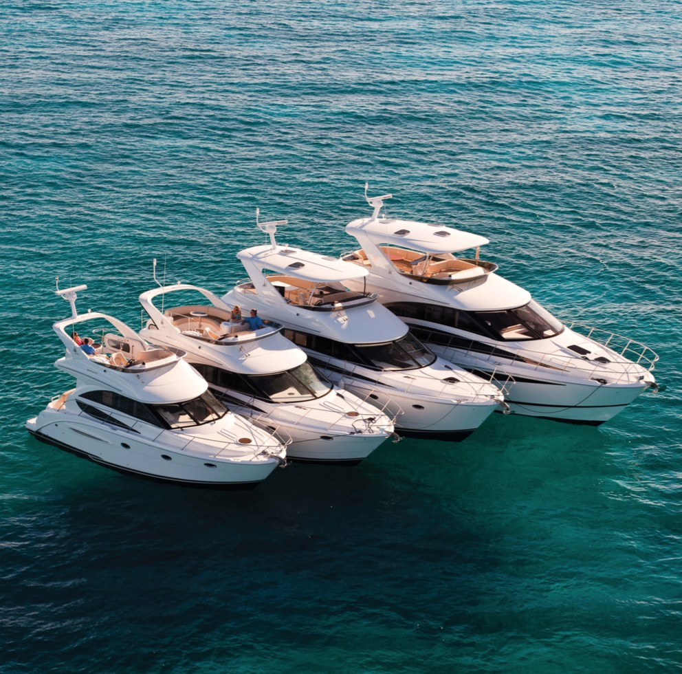 Meridian Yachts catalogue // brand and product copywriting, project management