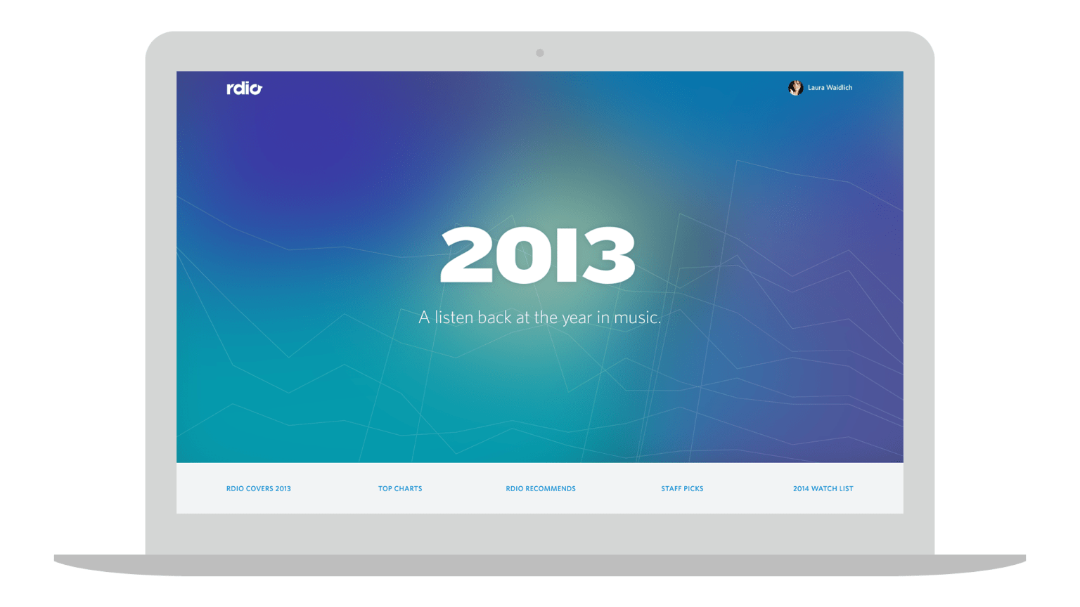 Rdio Year-In-Review